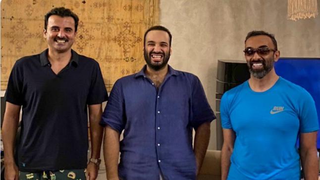لقاء يجمع الشيخ تميم بن حمد ومحمد بن سلمان وطحنون بن زايد يكشف تفاصيل جديدة
