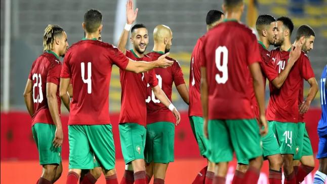 المغرب يتعرف على منافسه في مباراة التأهل لمونديال قطر 2022